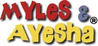 Myles & Ayesha Logo