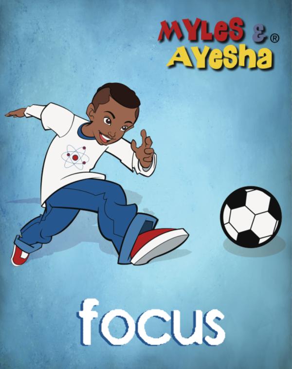 Focus: Myles Soccer Poster