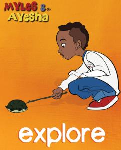 Myles Explores! ...a Turtle???