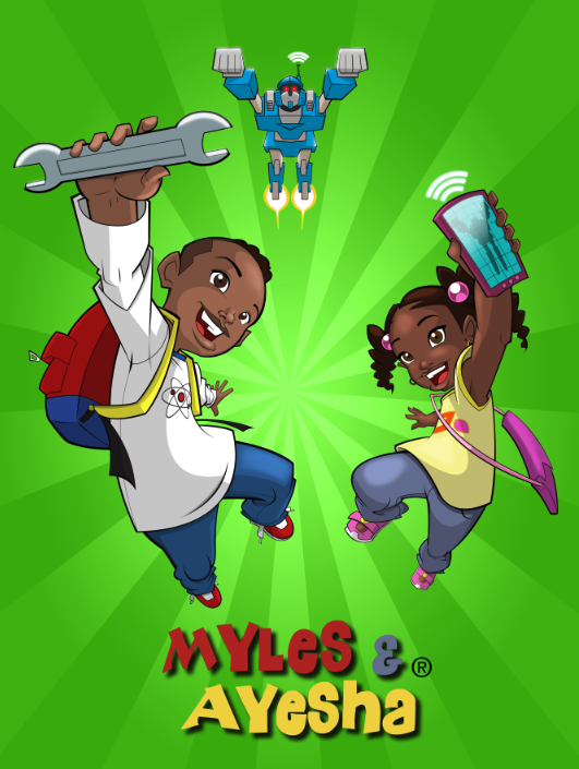 Myles & Ayesha STEM Poster: Robotics and Apps